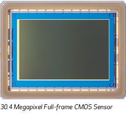 30.4 Megapixel Full-frame CMOS Sensor